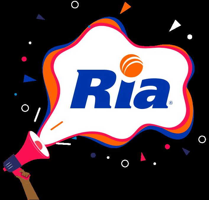 Annonce - Haut-parleur avec le logo de RIA