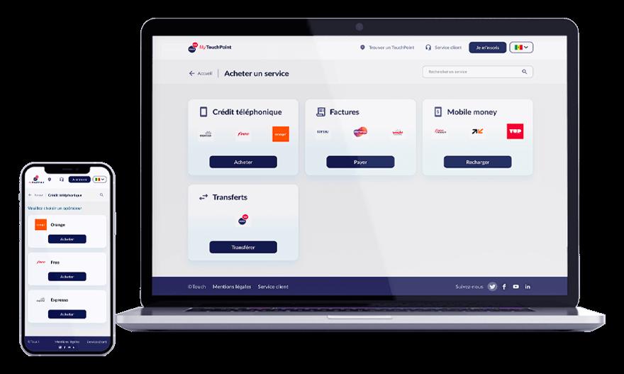 MyTouchPoint - vos services en un clic