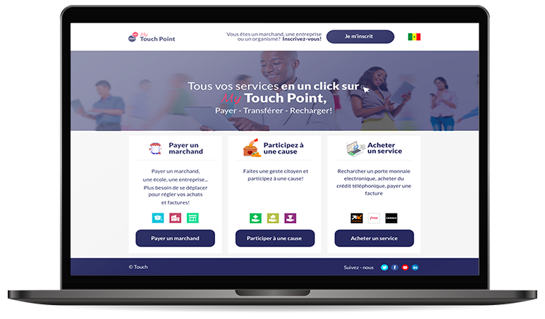 Touch Pay Point de vente